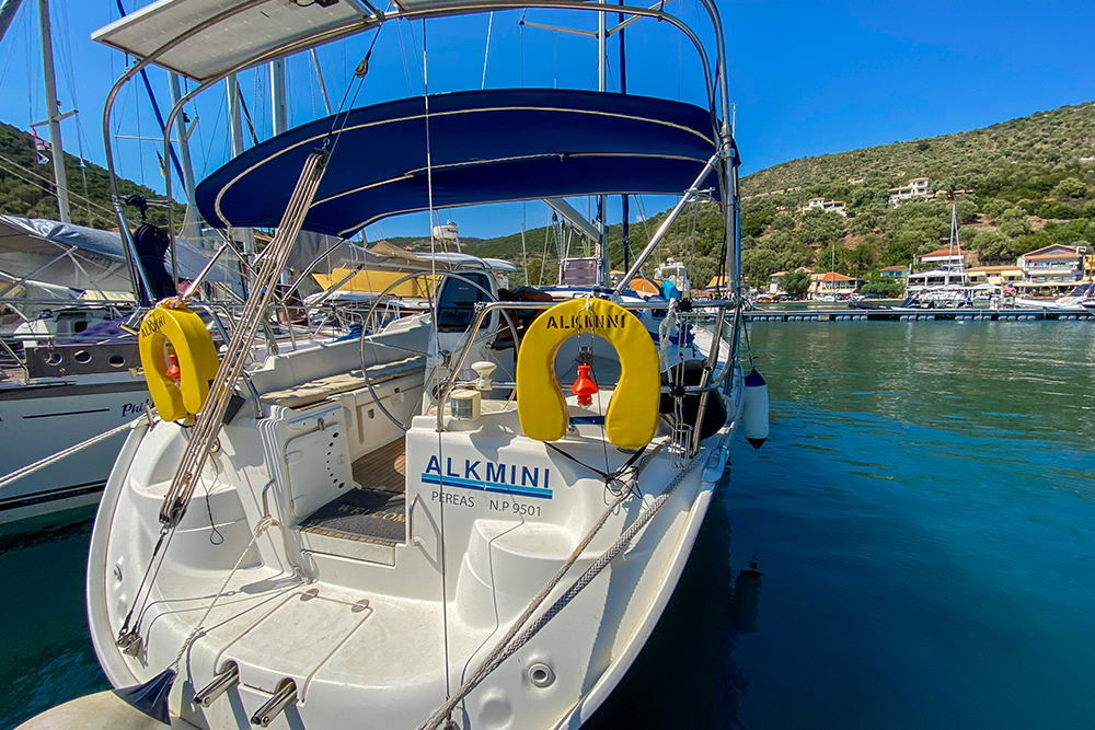 Orion Sailing Yacht Charter Greece - Blog Lunch Stop